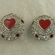 SALE Vintage Christian Dior Couture Earrings