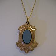 SALE Victorian Agate Fob Pendant