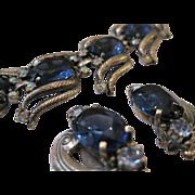 Schiaparelli Demi Parure Bracelet & Earrings