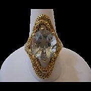 Prasiolite 18kt Custom Made Ring