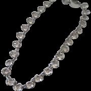 Art Deco Rock Crystal Necklace