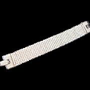 SALE Glamorous Swarovski Liquid Crystal Bracelet