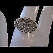 Gorgeous Diamond Art Deco 14kt Ring