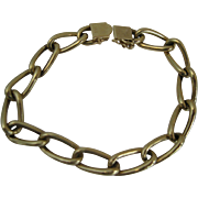 14kt Chain Link Bracelet 19.4 Grams