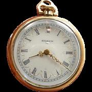 SOLD Refined Elgin Open Hunter's Case Ladies Pocket Watch c. 1890