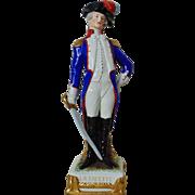 SALE Marquis de Lafayette French Napoleon Era Military Soldier Kister Scheibe-Alsbach German .