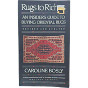 Rugs to Riches Oriental Rug Identification Guide