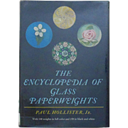 The Encyclopedia of Glass Paperweights by Paul Hollister, Jr. Identification Guide - Antique &