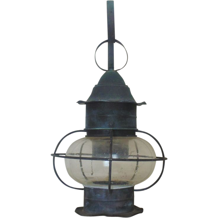 Cape Cod Lantern: Cape Cod Onion Lantern Wall Lamp Sconce From