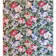 SALE 1 of 23 Yards Chintz Fabric Saison Floral Flowers