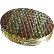 Evans woven Sterling compact fabulous