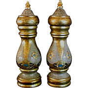 Chic set salt and pepper mill Gorgeous colors Italy
