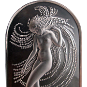 SOLD Lalique plaque Mermaid Siren Beautiful