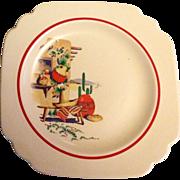Homer Laughlin Luncheon Plate Hacienda Design
