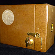 SOLD Kodak 50th Anniversary No. 2 Hawk-Eye Box Camera, Model C 1930