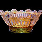 Massive Empire Baccarat Ormolu & Cut Crystal Centerpiece