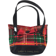 Vintage Vogue Ginny Doll Plaid Ginny's Swag Bag!