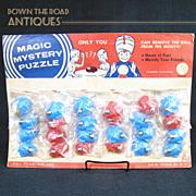 Magic Mystery Puzzle - Black Memorabilia Store Display