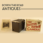Buster Brown Camera Mint in Box with Instructions - 1900's