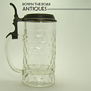 Thomasbrau Beer Stein with Pewter Lid - Munchen - Turn of The  Century