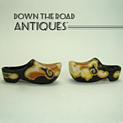Gouda Miniature Dutch Shoes - 1900's