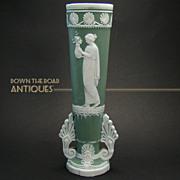 German Jasperware Vase - 1920's