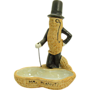 Mr. Peanut Bisque Pin Tray - Mint