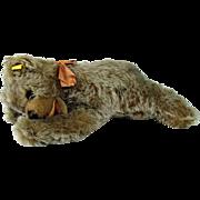 Steiff Floppy Zotty Stuffed Sleeping Bear - 1954