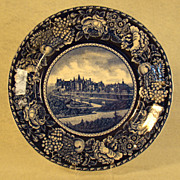 SOLD Historical Blue Staffordshire Plate