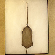 Silver Mesh Purse - Turn of the Century
