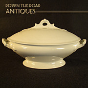Wedgwood White Ironstone Tureen