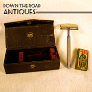 Keen Cutter Razor - Mint in Box with Unopened Blades - Early 1900's