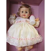 SALE Softee Tears baby doll, Horsman, in box, never played with