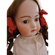 "Antique Simon & Halbig Bisque Head Doll-Very Large-25"" -Lovely!"