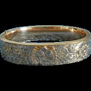 Victorian Gold-filled Bangle bracelet-Circa 1880