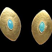 Marjorie Baer Earrings Simple Clip On