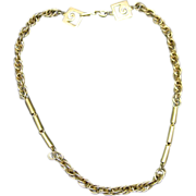 Pierre Cardin Necklace Chain Links Vintage Seventies