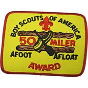 Boy Scouts of america 50 miler afoot afloat