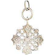 Peruzzi Cross Sterling silver Maltese Cross Italian