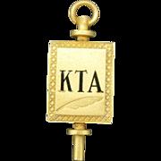 KTA Pin Kappa Tau Alpha Journalism and Communication