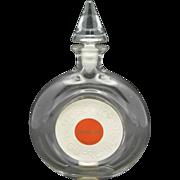 Shalimar Bottle Glass Eau de Cologne Guerlain French Perfume
