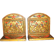 King Tut's Treasure Chest Bookends by Judd Co.