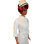1970 Mattel Julia Black Nurse Barbie, Twist & Turn