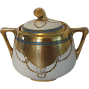 Art Nouveau Brauer Sugar Bowl