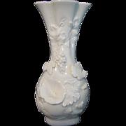 Vase Norcrest White Fine China Japan