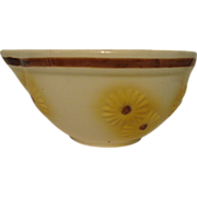 Hull Daisy Floral Batter Bowl Mixing Kitchen