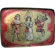 Antique Toy Tray Leo Schlesinger Love Letter 1912