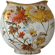 Antique Royal Bonn Vase Chrysanthemum Aesthetic Fall