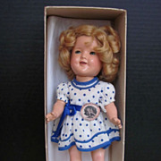 """SOLD Thank you 'L'_RARE 11"""" Early Shirley Temple Doll_Mint In Box_AWE_w/Shirley Photo_"""