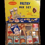 Black Americana, Aunt Jemima Junior Chef Pastry Mix Set in Box_never used_